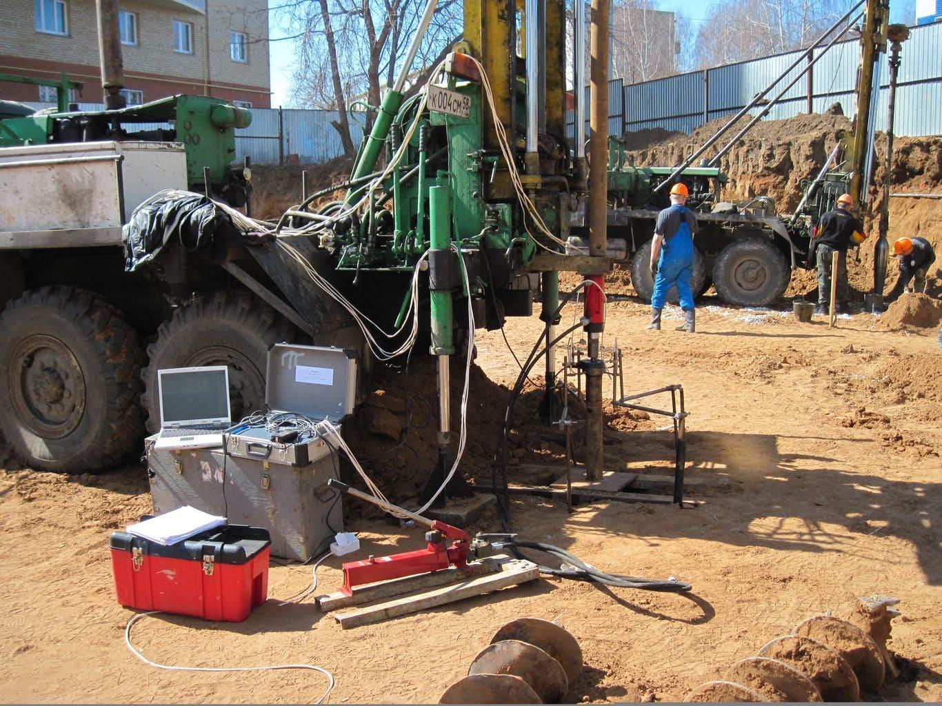 Геологические изыскания перед строительством в Нижнем Новгороде